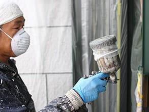 内外装吹付|ウェルビーホームの塗装工事施工メニュー